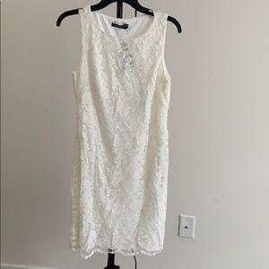 Ralph Lauren White sleeveless dress